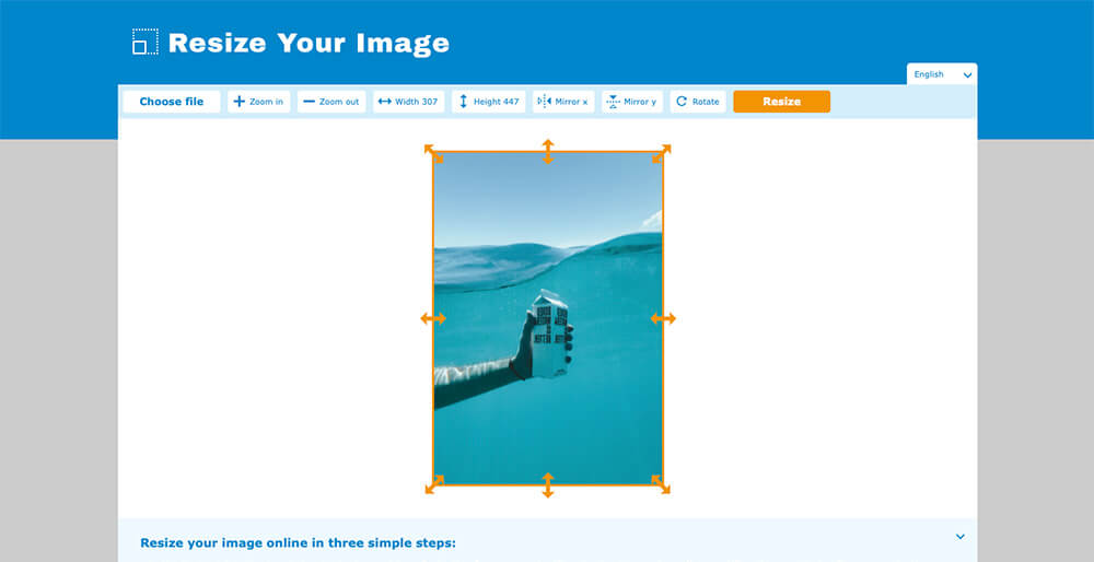 How to easily resize an image online [4/8]
