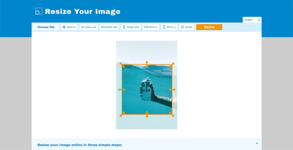 How to easily resize an image online [6/8]