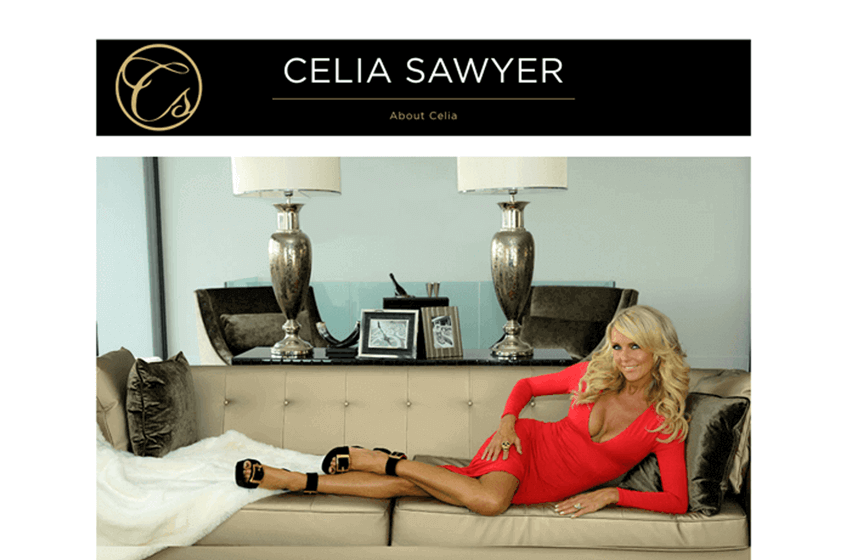 Celia Sawyer Website