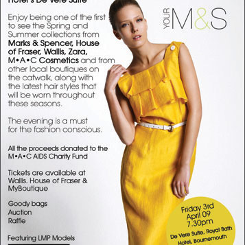 M&S Fashion Show